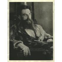 1934 Press Photo Professor Otto Schmidt Leader of Wrangel Island Expedition