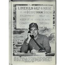 1967 Press Photo Curt Simmons of Philadelphia baseball to manage golf course