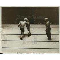 1931 Press Photo Young Terry vs Jackie Fields in boxing match - nes55217