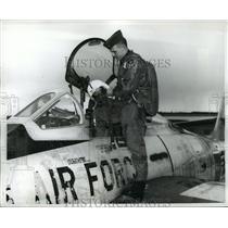 1962 Press Photo Alabama-National Guardsman 1st Lieutenant Rowland Funderburg.