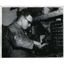 1962 Press Photo Alabama-National Guard-SSGT Claude H. Stuteville, III.