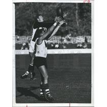 1966 Press Photo Australian Football has a different look than the U.S.