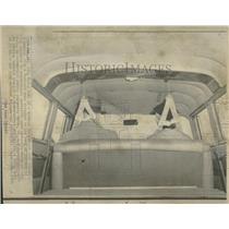 1966 Press Photo a V-shaped Yoke Attached Car Superior