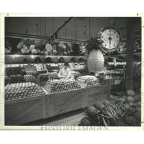 1985 Press Photo The produce department in a Safeway store, Houston - hca07171