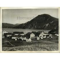 1932 Press Photo U.S. Base at Dutch Harbor in Alaska attacked by Japanese