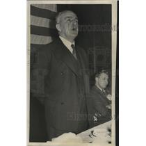 1939 Press Photo Irish Writer Oliver Saint John Gogarty Speaks at Rotary Club