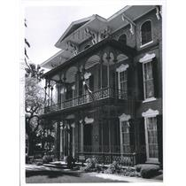 1978 Press Photo Entrance to Ashton Villa, Galveston, Texas  - hca08030