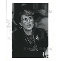 1986 Press Photo Aledene Abercia, Houston Church  - hca08044