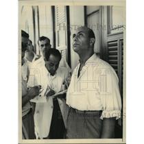 1856 Press Photo Col.Mahmoud Yunes Boss of Egypt Suez Canal Authority