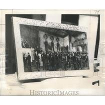 1957 Press Photo Scene at Republic of Louisiana state convention in 1861