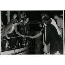 1925 Press Photo Boat Docks Sailboats Chicago Michigan - RRY65307