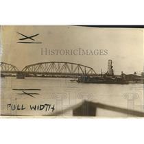 1929 Press Photo Louisiana - Chef Menteur Bridge Opened for Traffic