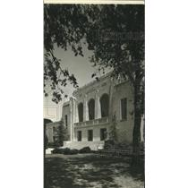 1940 Press Photo Baylor University Chapel in Waco Hall
