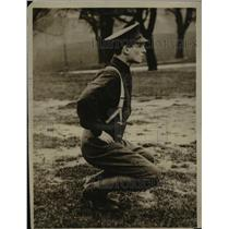 1914 Press Photo Young Asquith Going Through The Military Setting Up Exercise