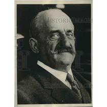 1930 Press Photo Former Liberal Prime Minister of Spain Count Romanones