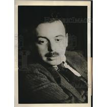 1937 Press Photo Bela Kuhn charged with Trotskyism by Soviet