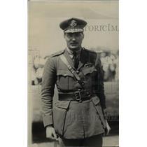 1918 Press Photo British Aviator General Charles F Lee