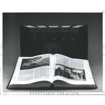 1996 Press Photo Series of hardcover books - hca10149