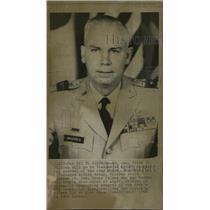 1968 Press Photo Lt. Gen. Mildren Vietnam army deputy - RRW99125