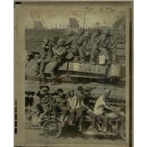 1971 Press Photo South Vietnamese troops - RRX65087