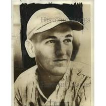 1938 Press Photo Bill Nowak-baseball player - cvb39982