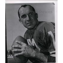 1963 Press Photo Zeke Bratkowski of Green Bay Packers - cvs04327