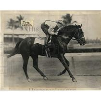 1934 Press Photo Time Clock, Kentucky Derby Entrant - cvs04648