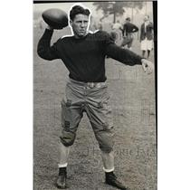 1931 Press Photo Albie Booth, Captain of Yale University Football Team