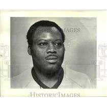 1985 Press Photo Collinwood wrestling coach Ron Alexander  - cvb38912