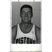 1990 Press Photo Bill Laimber Pistons - RRX38691