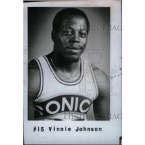 1990 Press Photo Vinnie Johnson Basketball Player - RRX40791