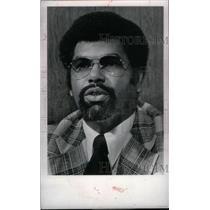 1977 Press Photo Ray Scott Coach Detroit Pistons - RRX38827