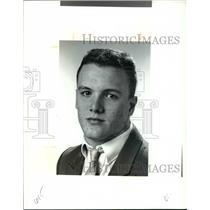 1991 Press Photo Jeremy Patty, Mayfield Wrestling - cvb42787
