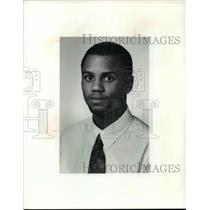 1991 Press Photo Marc Graham of Shaw wrestling - cvb42209