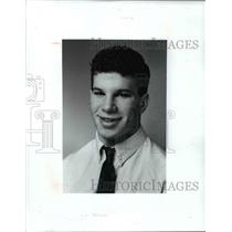 1991 Press Photo Peter Nathanson-Shaker Heights wrestling - cvb39302