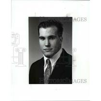 1991 Press Photo Stephen Trebieniec, St. Edwards Wrestler - cvb39593