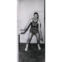 1952 Press Photo Bill Faddis basketball player Regis - RRW98415