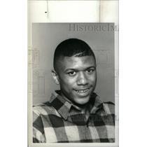 1990 Press Photo Jalen Rose Southwestern Basketball - RRX40529
