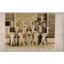 1923 Press Photo 1923 FHS Basketball Champions - RRW69423