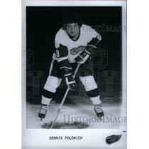 Press Photo Detroit Red Wings Dennis Polonich - RRX39507