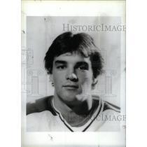 Press Photo Joseph Murphy professional hockey winger - RRX39523