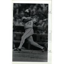 1987 Press Photo Eddie Murray Baltimore Orioles Hitter - RRW73803