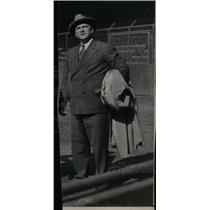 1945 Press Photo Steve O'Neill Manager Boston Red Sox - RRX39275