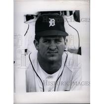 Press Photo Gene William Lamont MLB White Sox Tigers - RRX40069