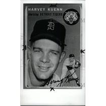1985 Press Photo Harvey Edward Kuenn American Detroit - RRW80129