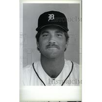 1986 Press Photo Bryan Kelly Detroit Tigers Pitcher - RRX40049