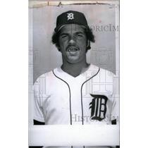 1981 Press Photo George Cappuzzello Detroit Tigers play - RRX39965
