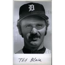 press photo Ted Blair Detroit Tigers player - RRX40067