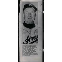 1959 Press Photo Charles Dressen, baseball - RRX39087