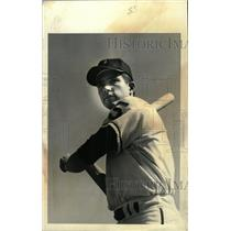 1967 Press Photo Bob Fintzner Denver Univ. Baseball - RRW80463
